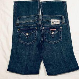 Hudson flare jeans medium wash size 27
